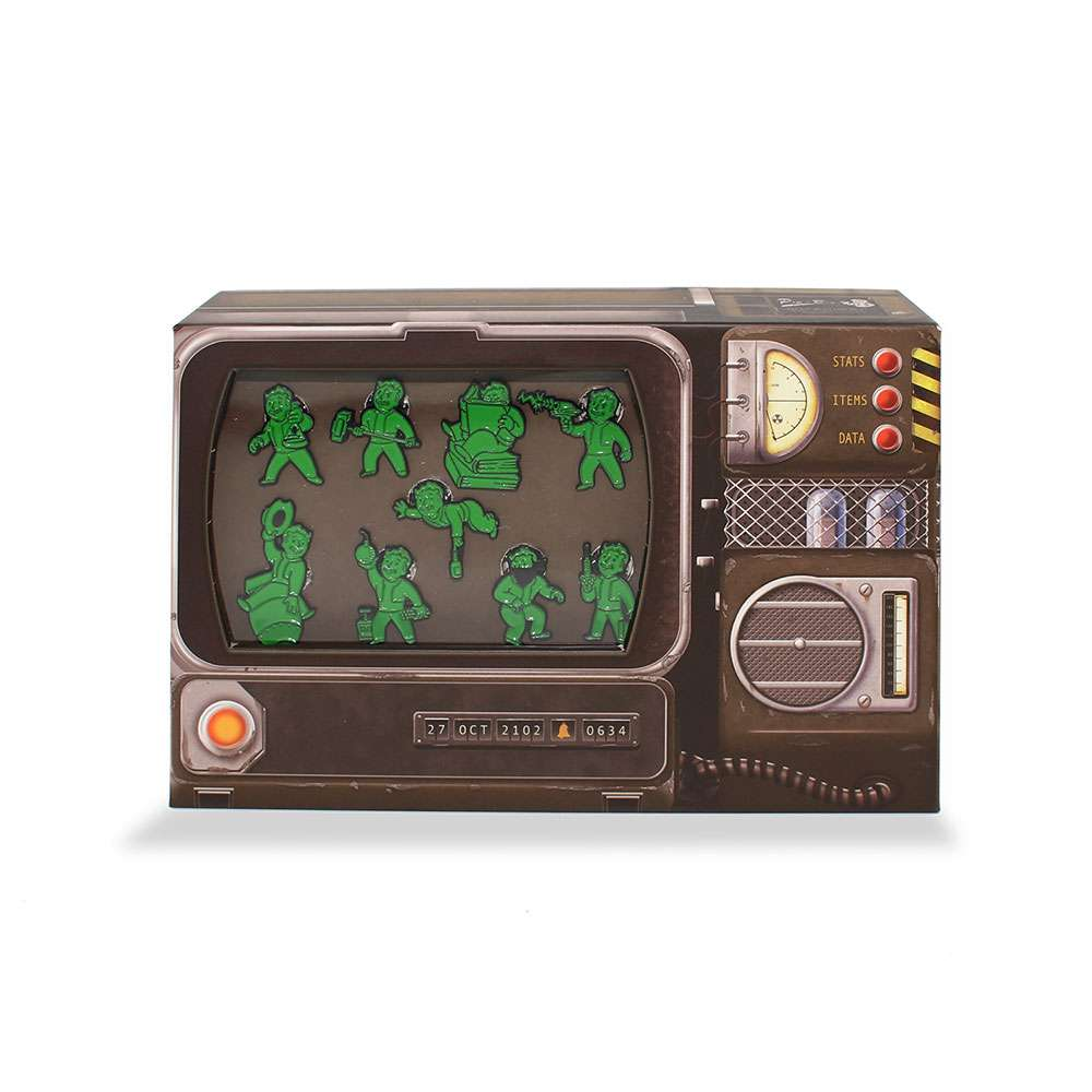 Official Fallout 76 Pip-Boy Pin Badge Set
