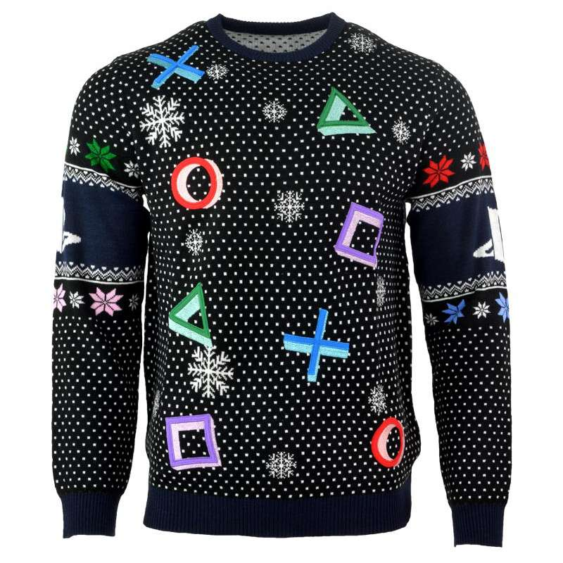 previous - Black Christmas Sweater