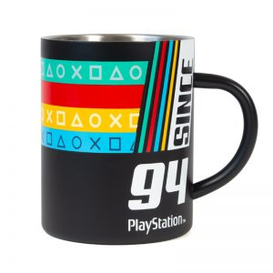 Since '94 Steel Mug inspired by PlayStation Original Logo