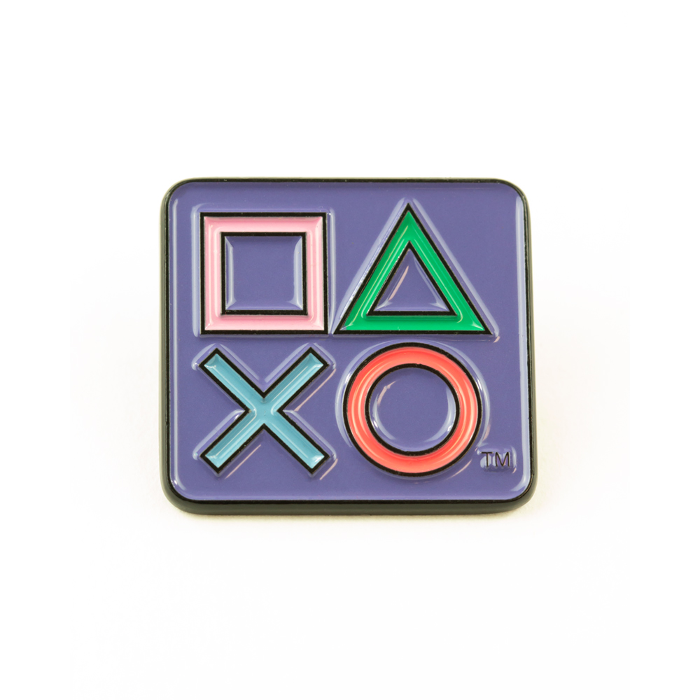 PlayStation 25th Anniversary Pin Badge Set – Limited Edition