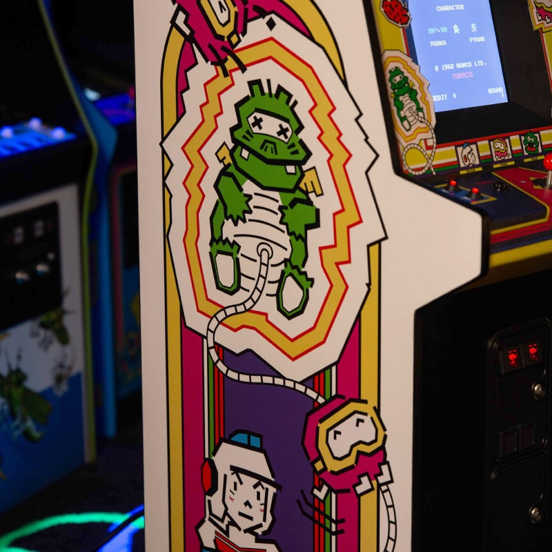 Dig Dug Quarter Scale Arcade Cabinet Numskull 1,150 likes · 56 talking about this · 31 were here. dig dug quarter scale arcade cabinet