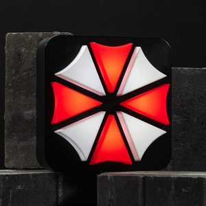 Official Resident Evil Umbrella Corporation Lamp