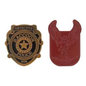 Resident Evil 2 Pin Badge Set (2 Pack)