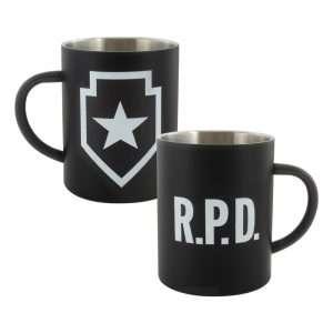 Resident Evil 2 R.P.D. Steel Mug