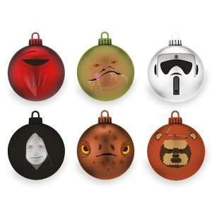 Star Wars Return of the Jedi Christmas Decorations / Ornaments
