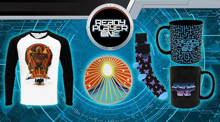 Official Ready Player One Merchandise