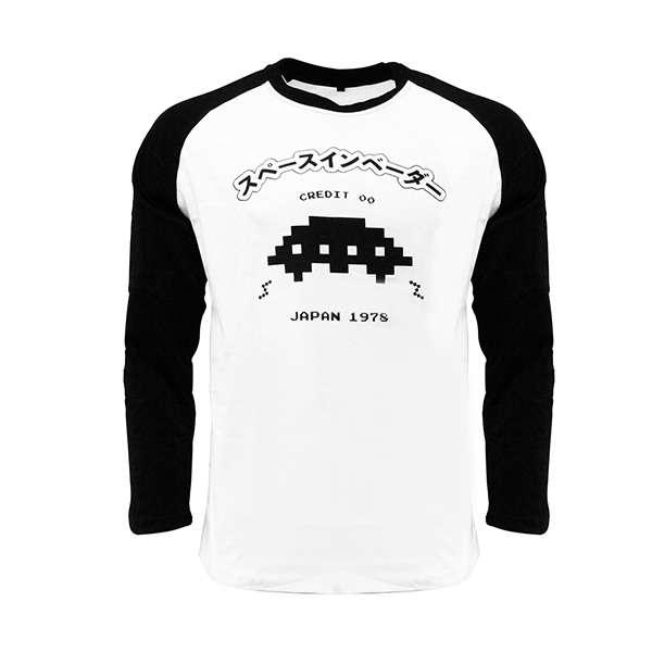 Space Invaders UFO Raglan T-Shirt