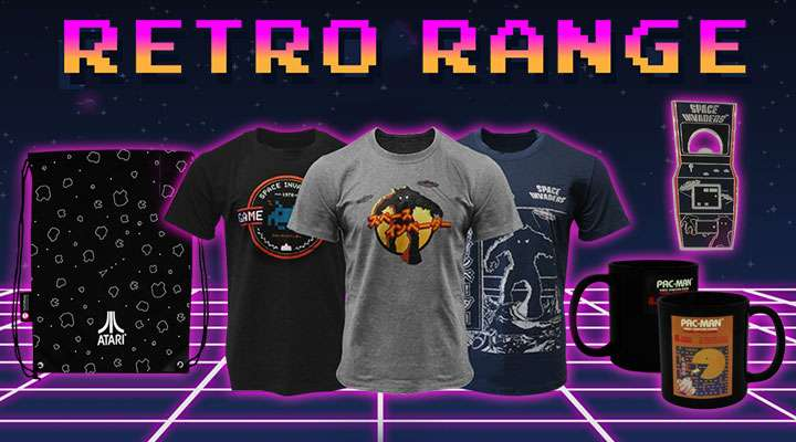 Official Retro Gaming Merchandise