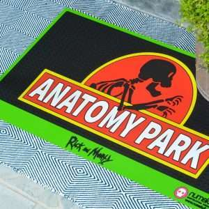 Rick and Morty Anatomy Park Door Mat / Floor Mat