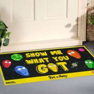 Rick and Morty 'Show Me What You Got' Door Mat / Floor Mat
