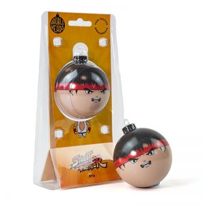 Bauble Heads Street Fighter 'Ryu' Christmas Decoration / Ornament