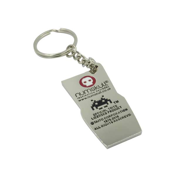 Space Invaders Keyring / Keychain
