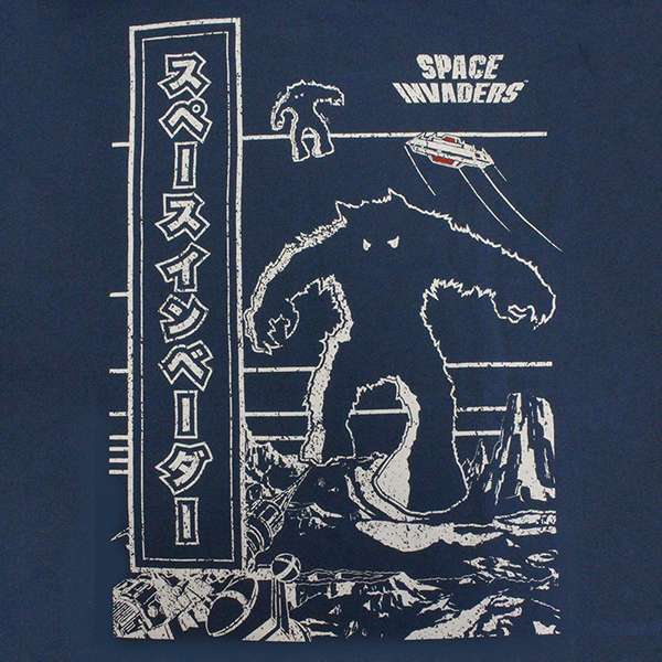 Space Invaders Cabinet Arcade Art T-Shirt