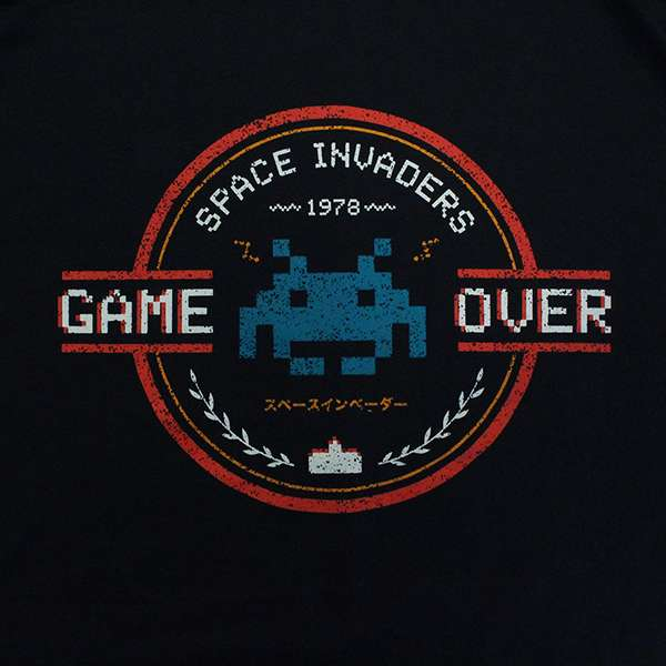 Space Invaders Game Over T-Shirt
