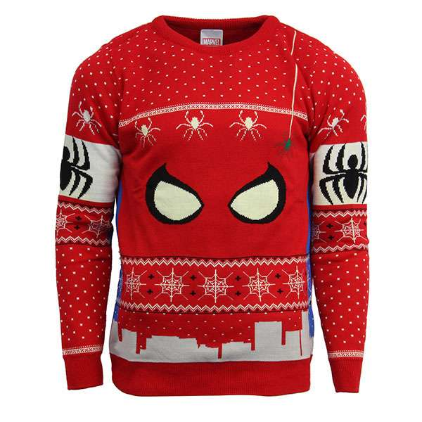 Spiderman Christmas Jumper / Sweater
