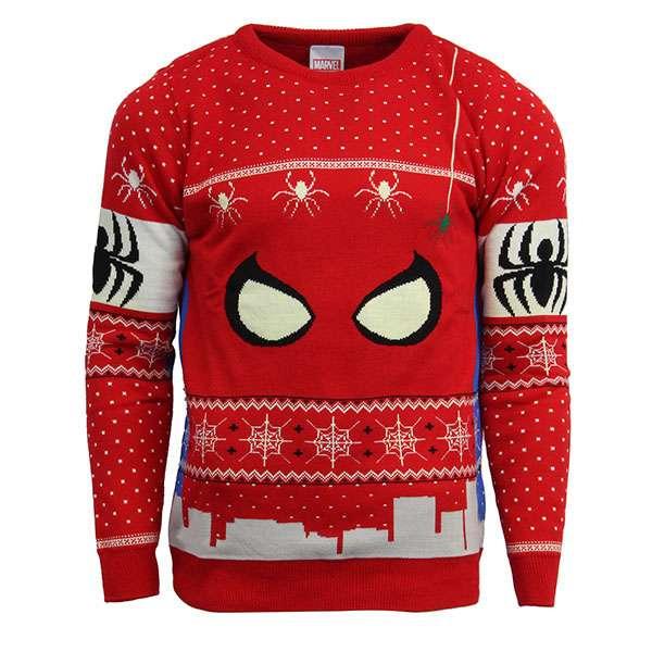 Spiderman Christmas Jumper / Sweater