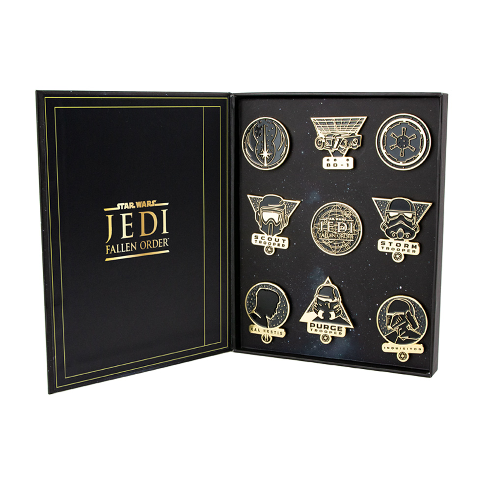 Star Wars 'Fallen Order' Premium Pin Badge Set