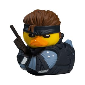 Metal Gear Solid Solid Snake TUBBZ Cosplaying Duck Collectible