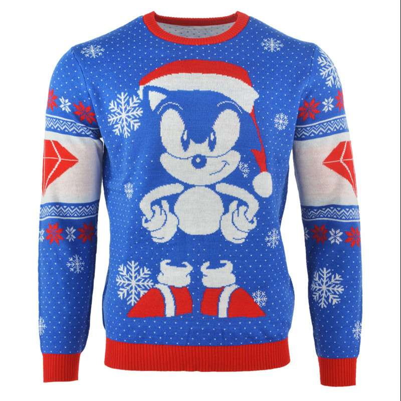 sonic christmas jumper