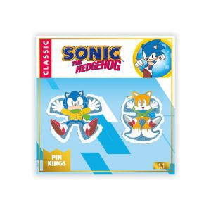 Pin Kings SEGA Classic Sonic The Hedgehog Christmas Enamel Pin Badge Set