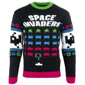 Space Invaders Christmas Jumper / Sweater