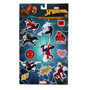 Spider-Man Fridge Magnets (Set of 12)