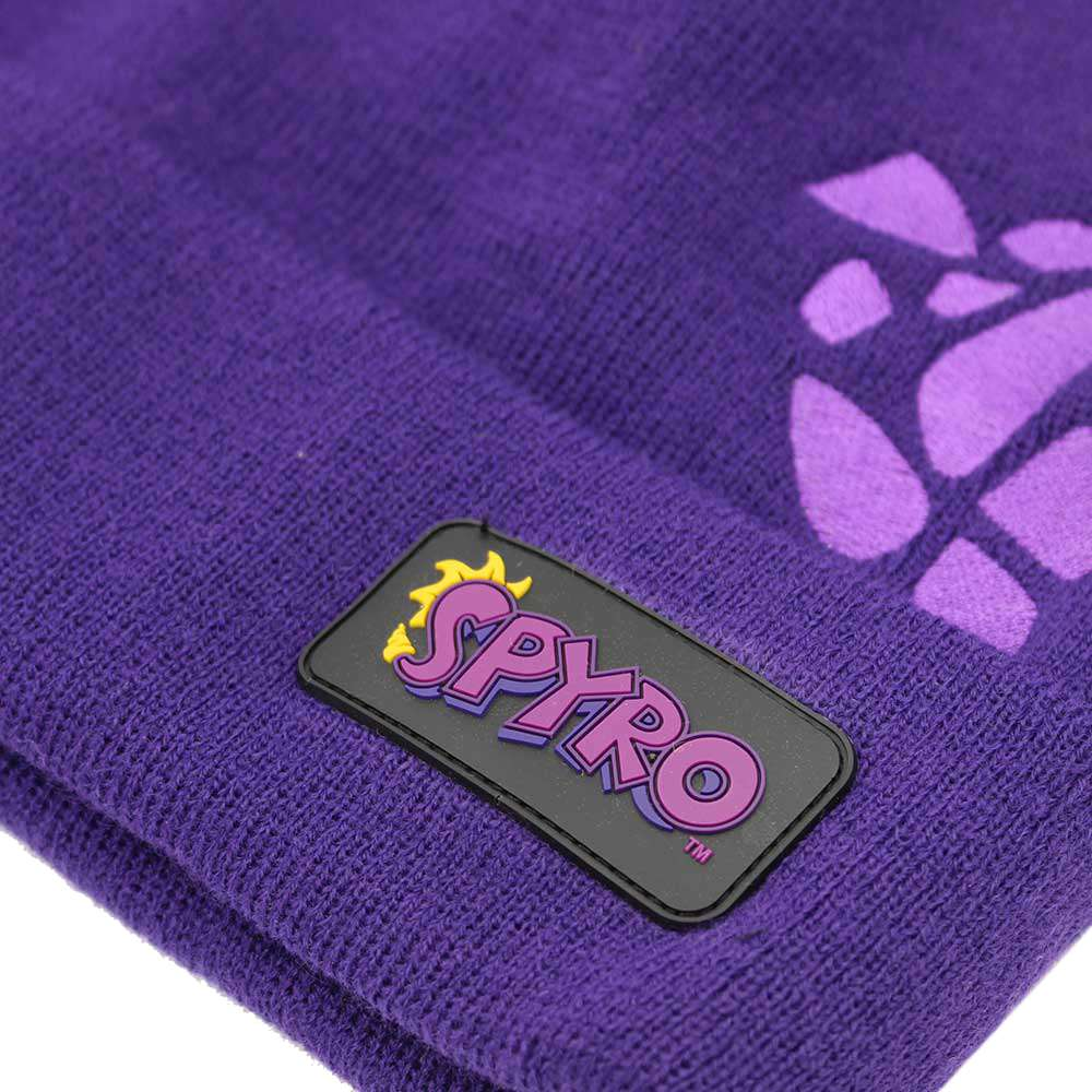 Spyro the Dragon Scaled Beanie