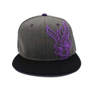 Spyro the Dragon Embroidery Snapback