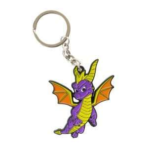Spyro the Dragon Metal Keyring / Keychain