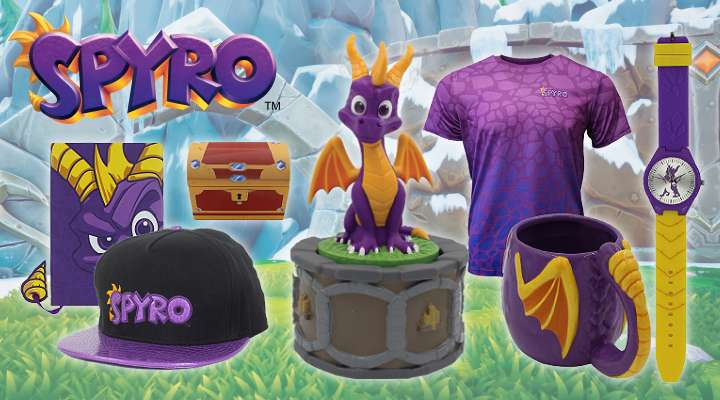 Spyro the Dragon Official Merchandise!!!!