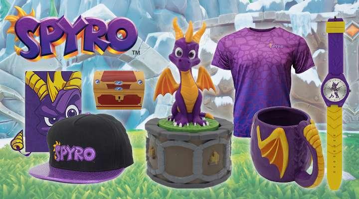 Spyro the Dragon Official Merchandise!!!!
