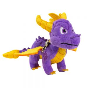 Spyro the Dragon Keyring Plushie