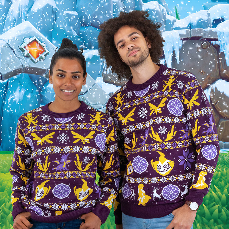 Spyro The Dragon 'Fairisle' Christmas Jumper / Ugly Sweater