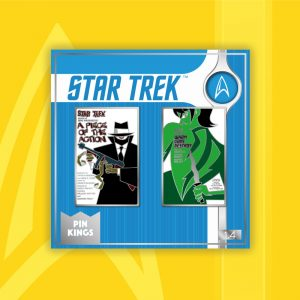 Pin Kings Star Trek Enamel Pin Badge Set 1.4 – A Piece of Action & Whom Gods Destroy