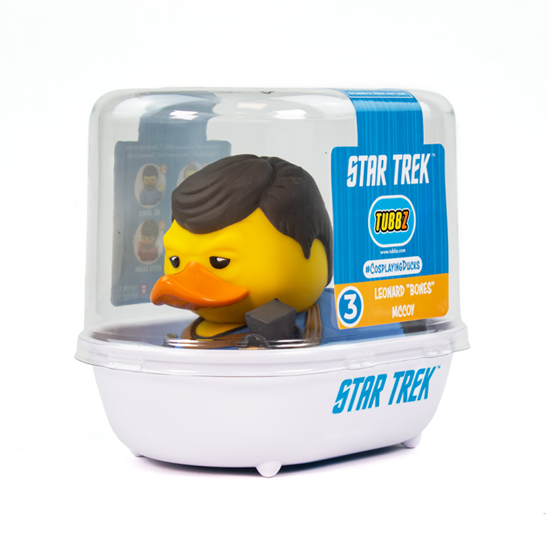 Star Trek Leonard 'Bones' McCoy TUBBZ Cosplaying Duck Collectible