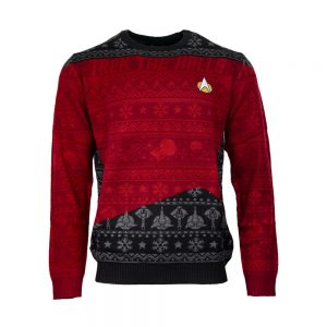 Official Star Trek 'Trek The Halls' Christmas Jumper / Ugly Sweater