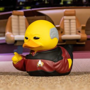 Star Trek Jean-Luc Picard TUBBZ Cosplaying Duck Collectible