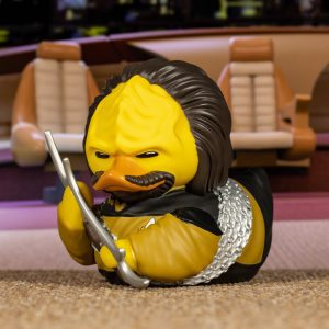 Star Trek Worf TUBBZ Cosplaying Duck Collectible