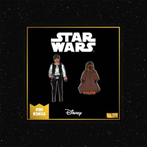 Pin Kings Star Wars Enamel Pin Badge Set 1.5 – Han Solo and Jawa