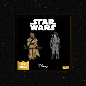 Pin Kings Star Wars Enamel Pin Badge Set 1.6 – Tusken Raider and Imperial Death Star Technician