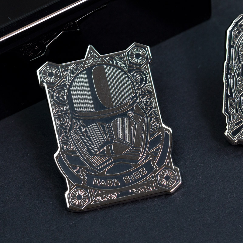Pin Kings Star Wars Enamel Pin Badge Set 4.1 – Kylo Ren & Stormtrooper