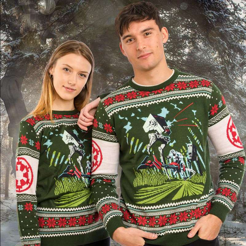 Star Wars Battle of Endor Christmas Jumper / Ugly Sweater