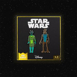 Pin Kings Star Wars Enamel Pin Badge Set 1.7 – Greedo and Hammerhead