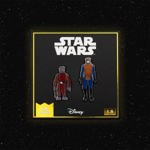 Pin Kings Star Wars Enamel Pin Badge Set 1.8 – Walrus Man and Snaggletooth