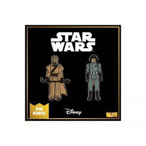 Pin Kings Star Wars Enamel Pin Badge Set 1.6 – Tusken Raider and Imperial Death Star Technician