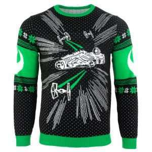 Star Wars Millenium Falcon Christmas Jumper / Ugly Sweater