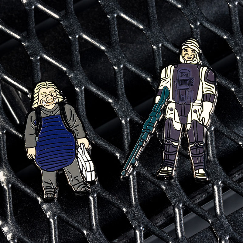 Pin Kings Star Wars Enamel Pin Badge Set 1.17 – Ugnaught and Dengar