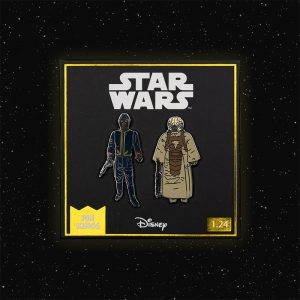 Pin Kings Star Wars Enamel Pin Badge Set 1.24 – Bespin Security Guard (Variant) and Zuckuss