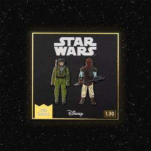 Pin Kings Star Wars Enamel Pin Badge Set 1.30 – Rebel Commando and Weequay