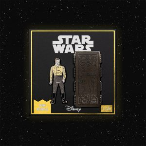 Pin Kings Star Wars Enamel Pin Badge Set 1.45 – Han Solo and Han Solo (In Carbonite Chamber)